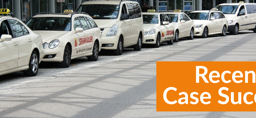 TfL drop case following submission by Taxi Defence Barristers