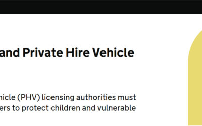 A guide to the Statutory Taxi and Private Hire Vehicle Standards